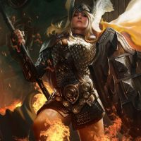 Forged of Flame: A Shield Maiden Battle Song